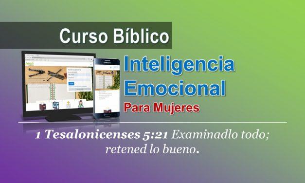 CURSO BIBLICO MUJERES – INTELIGENCIA EMOCIONAL