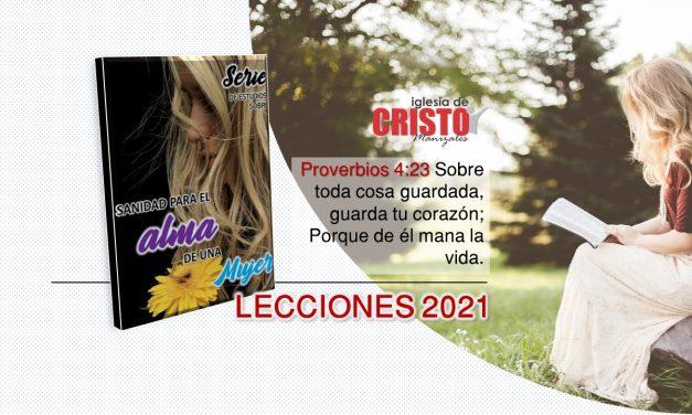 Sanidad Para el Alma de una Mujer – 2021